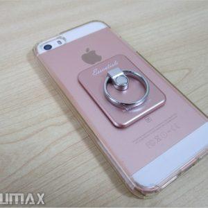4インチのiPhone SEに「落下防止のバンカーリング」を付けたら最強の片手スマホになった