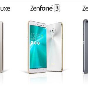 ZenFone3/Deluxe/Ultraのスペックと価格。一番小さなモデルでも5.5型で大きすぎる