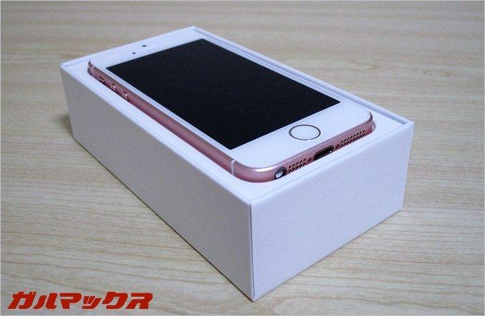 iPhoneSEの本体画像