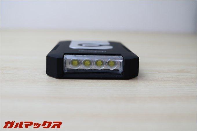 4灯LEDの本格的な懐中電灯