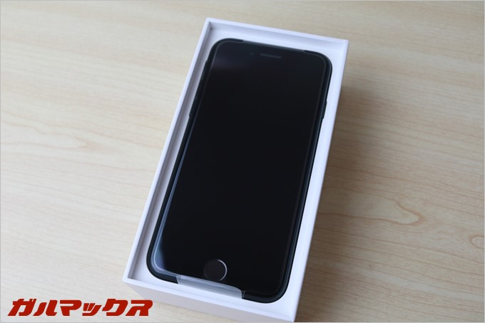 iPhone7のブラックモデルがお目見え