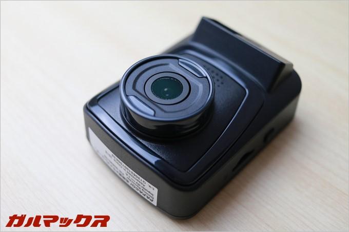 PAPAGO!のドラレコGoSafe 130は140°のレンズを備えている