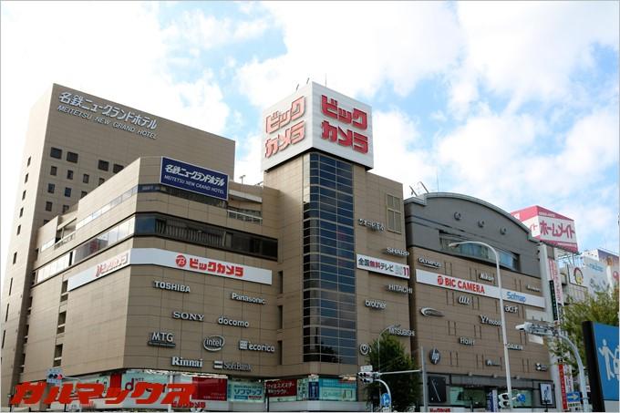 超大型店舗のビックカメラ名古屋駅西店