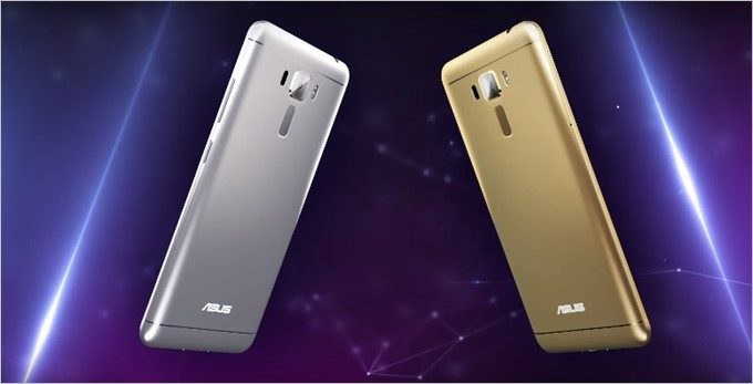 ZenFone3 Laserは高品質なメタルボディーを採用。カラーはシルバーとゴールドを用意