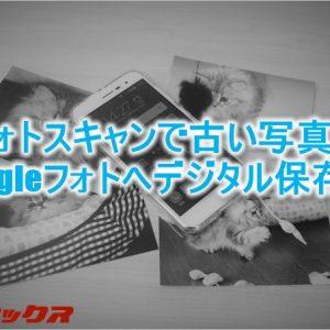 古い写真をデジタル保存出来る「フォトスキャン」の使い方と上手く取り込むコツ