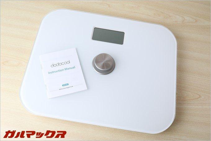 2016年に手に入れて気に入った体重計は電池不要のdodocool製体重計