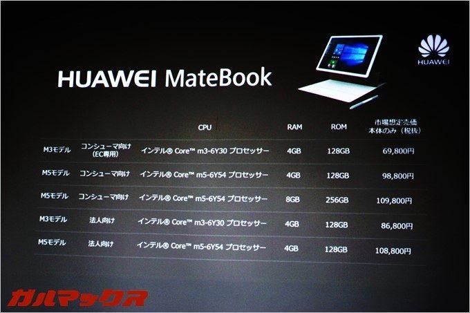 高性能ながら非常に安いタブレットPC