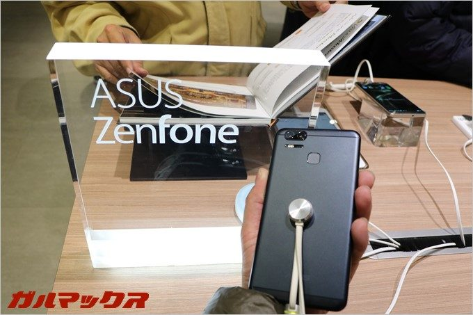台湾でZenfone3 Zoomを触ってきた