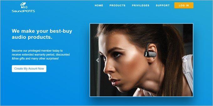 Bluetoothスピーカーやイヤホンに提供が有るSoundPEATS。
