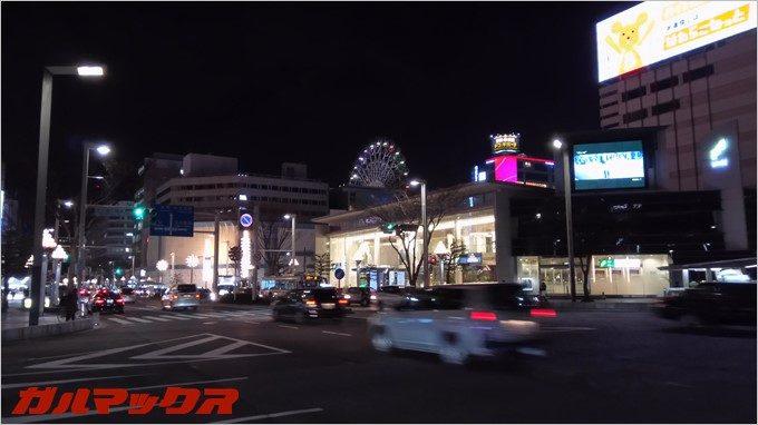 RAIJINで夜間撮影