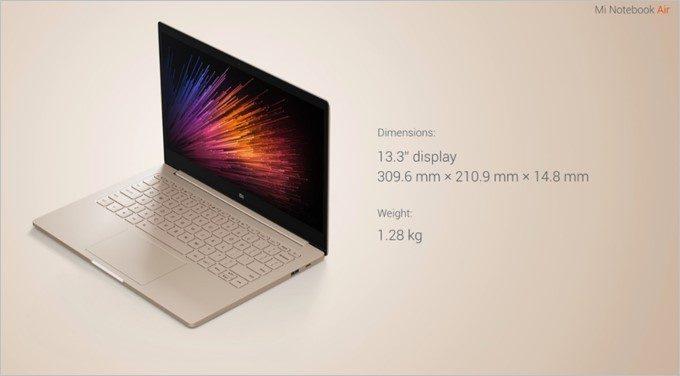 画面解像度も1920x1080でMacBook Airよりも高解像度です