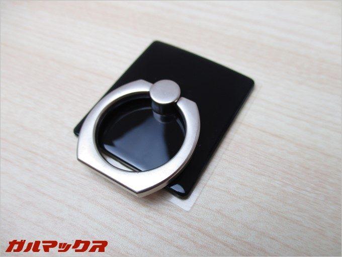 Finger Ringは光沢のある台座なので指紋がベタベタ付きます。