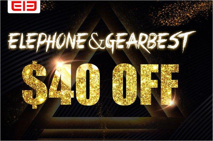 GEARBEST復活セールではElephoneシリーズの特設会場を用意