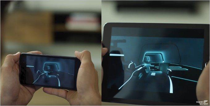 スマートフォンの処理性能で利用できるガワだけタブレットのSuperscreen。