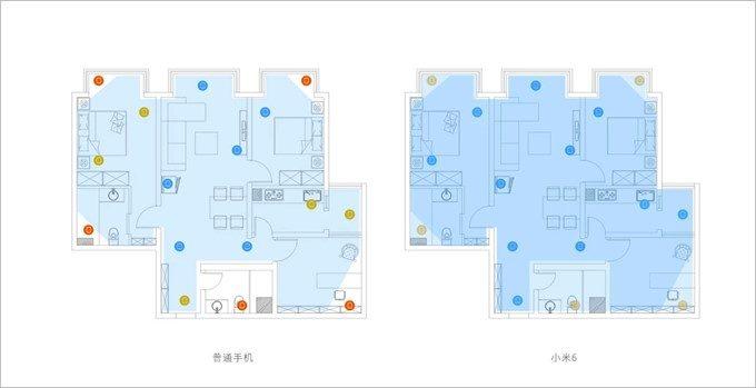 2×2 MIMO、U-MIMOに対応した高速Wi-Fiが利用できるので広範囲な室内Wi-Fiにも強い事をアピール。