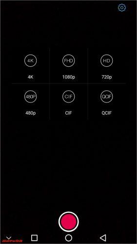 動画撮影では最大4Kが選択可能です。