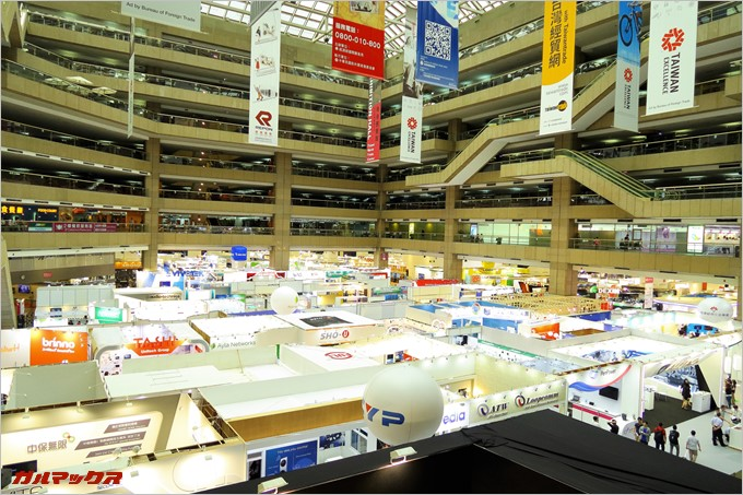 台北貿易センター展示ホール1