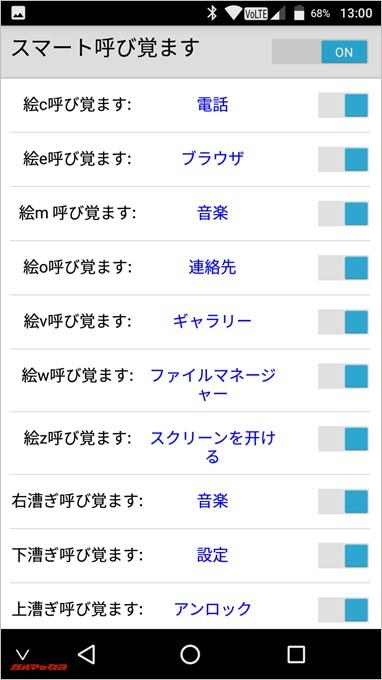 EveryPhone MEの便利機能