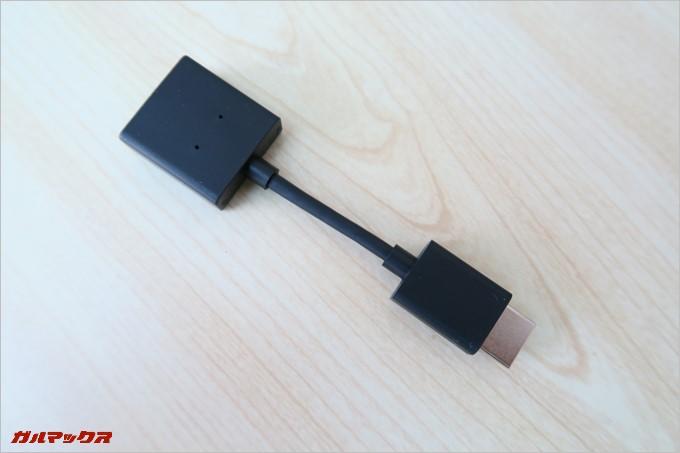 HDMIの延長ケーブルも付属しています