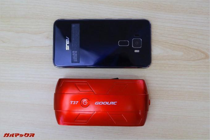 5.2インチのスマートフォンより小さいGOOLRC T37