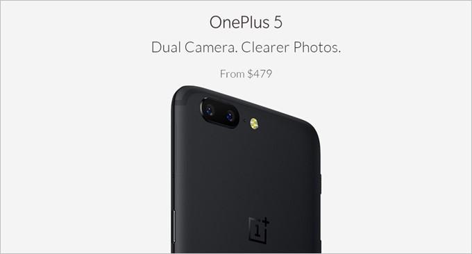 OnePlus 5はSnapdragon835、SONYセンサーを利用したデュアルカメラ、DSDSなど高性能な端末ながら価格が479ドルの高コスパスマホ