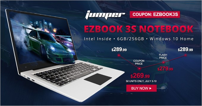 Jumper EZBOOK 3Sのセール