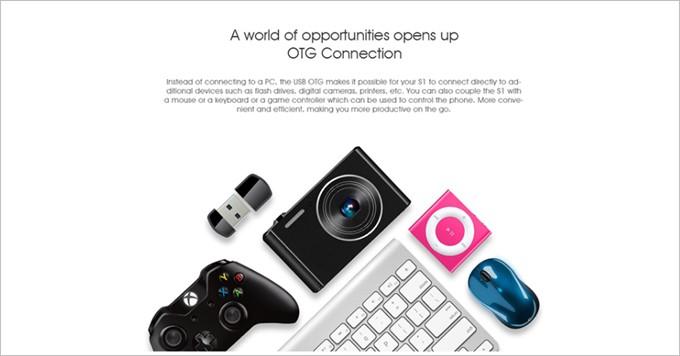 USB周辺機器が利用できるOTGに対応している