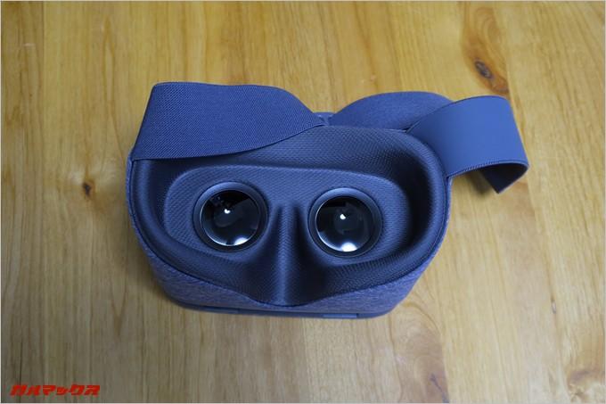 眼鏡をかけても利用可能なDaydream ViewのVRゴーグルは眼鏡マンの僕には嬉しかった。