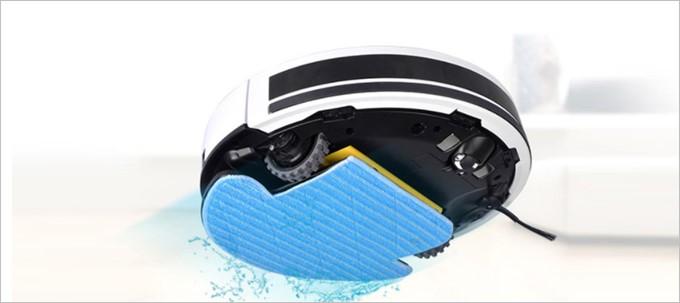 より水拭きに重点を置いたILIFE V7S Pro