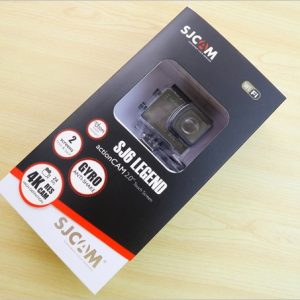 SJCAM SJ6 LEGENDレビュー!超強力手ぶれ補正が魅力的なアクションカメラ!