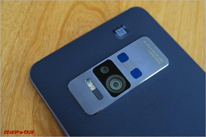 3つのカメラを備えたTango専用のカメラ