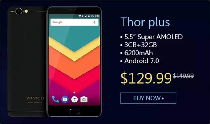 Thor plusは129.99ドル!