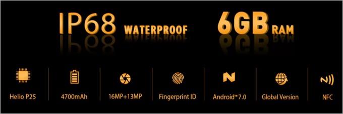 Ulefone Armor 2はタフネスモデルながら超高性能