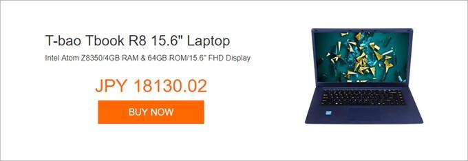 """T-bao Tbook R8 15.6"""" Laptop"""