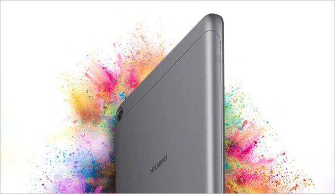 MediaPad T3は低価格モデルとは思えない高品質な外観が魅力的です。