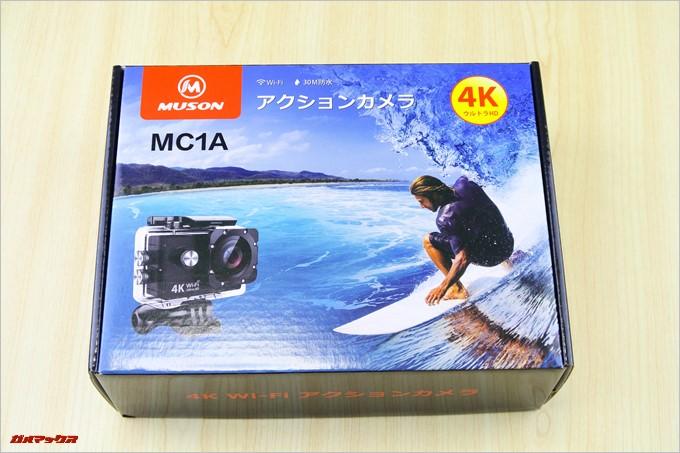 MUSON MC1Aの外箱