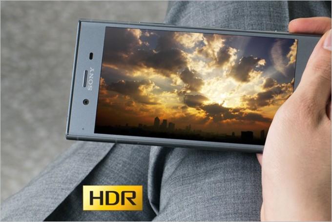 Xperia XZ1はHDR動画を楽しめます