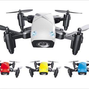 トイドローン「S9W」が高性能で激安!折り畳み・自動操縦・高度維持付きで4,000円以下!