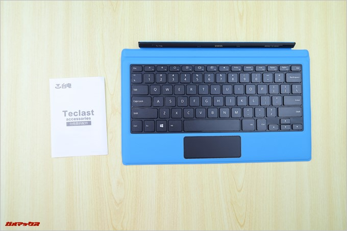 Teclast Tbook 16 Power専用キーボードも本体と説明書のみです