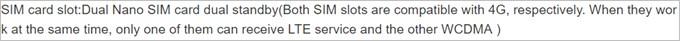 Xiaomi Mi Mix 2は4G+3Gのデュアルスタンバイに対応しています