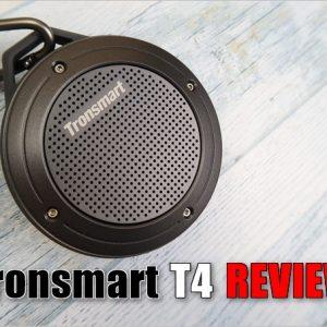 過酷な環境でも使える!小型BluetoothスピーカーTronsmart「T4」レビュー!