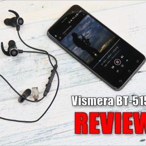 パワフルな低音が魅力!BTイヤホン Vismera「BT-515F」のレビュー!