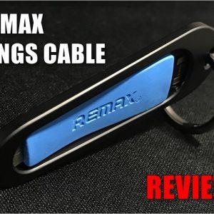 REMAX RINGS CABLEのレビュー!家に忘れることが不可能なLightningケーブル