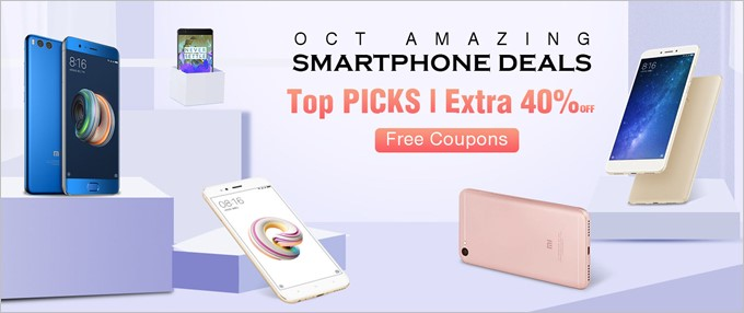 October Amazing Smartphone Deals