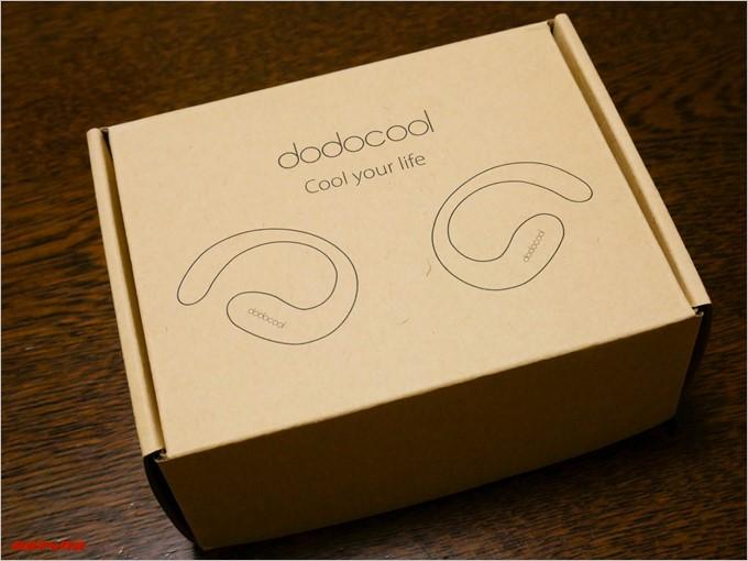 dodocoolのDA144の外箱は専用に作られた箱です