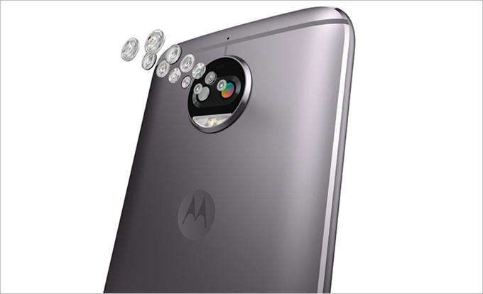 Moto G5S Plusのカメラは被写界深度を2つのカメラで捉える事で背景ボケの写真や後からピント位置を調整するなどデュアルカメラ特有の機能が利用できます