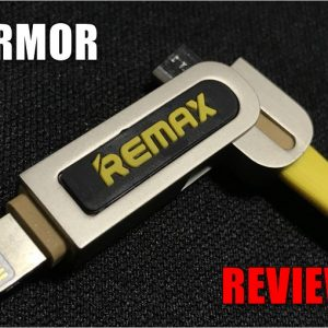 REMAX ARMORのレビュー!LightningとMicroUSBの2in1でiPhone・iPadユーザーの悩みを一気に解決!