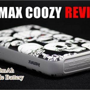 個性的なドクロ柄のモバイルバッテリー!REMAX COOZYのレビュー!