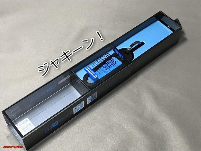 REMAX RINGS CABLEの外箱はスライド型でした