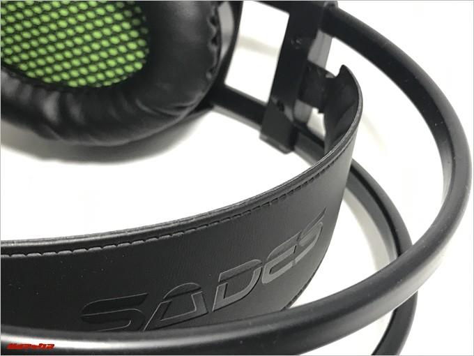 SADES SA-801のヘッドバンドが2段構造で吸い付くようにフィットします
